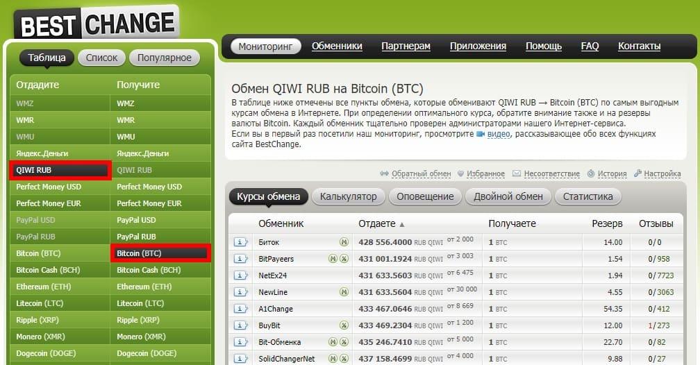 пополнение yobit с qiwi через обменник
